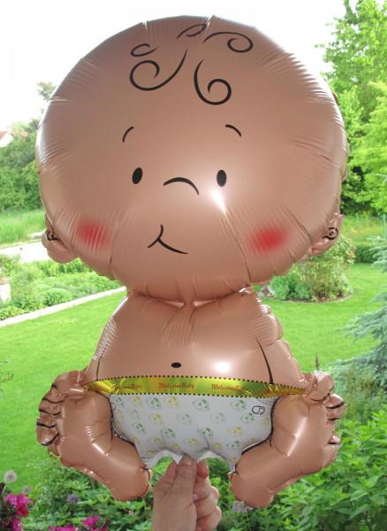 Baby-Ballon für Geburt und Geburtstag